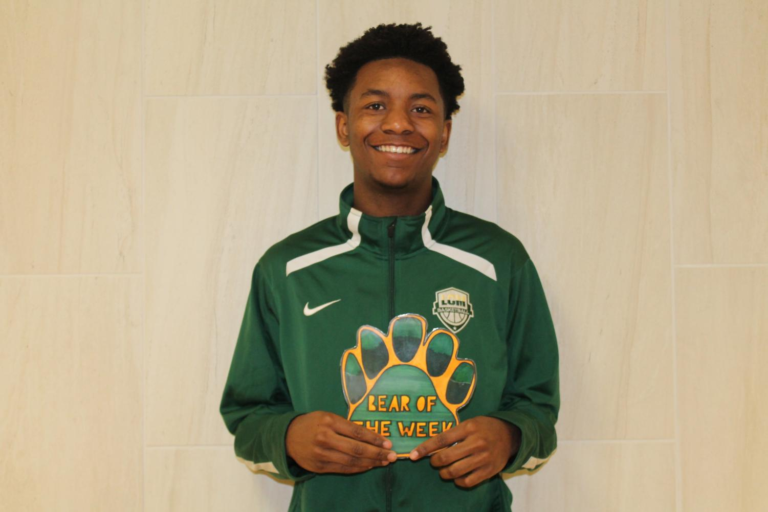 Senior Tyrese Heard is a member of the varsity basketball team.
