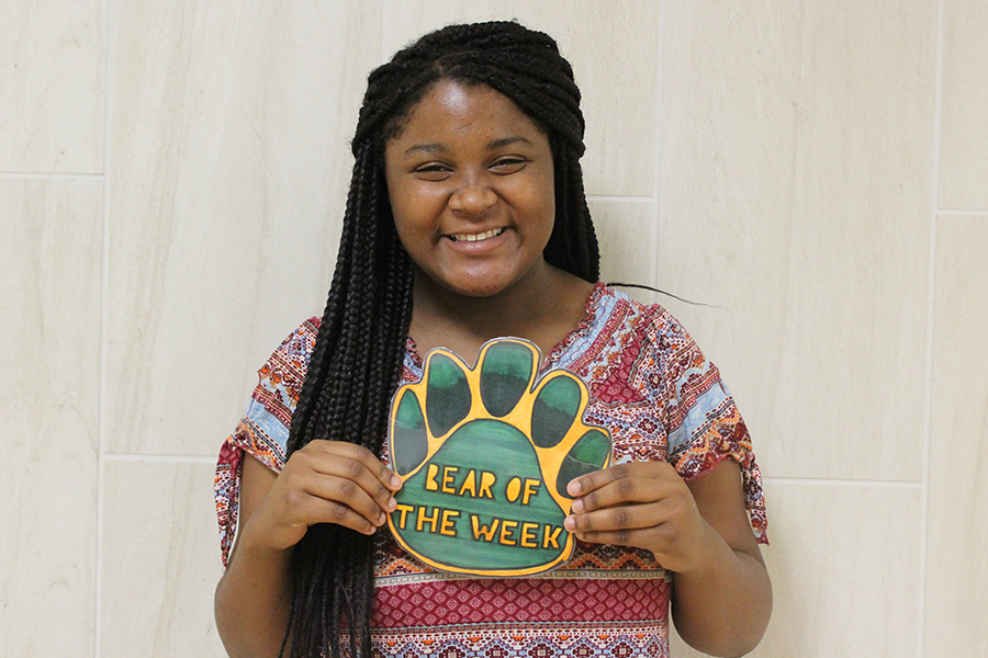Freshman Jojo Angelle is a member of the track team and enjoys making people laugh.