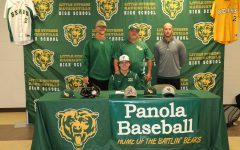 Senior signs to play college baseball