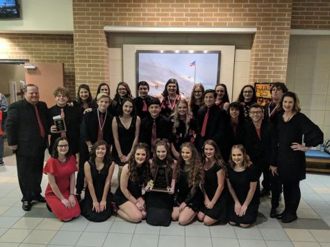 Choir Students Compete at Solo and Ensemble, Advance to State