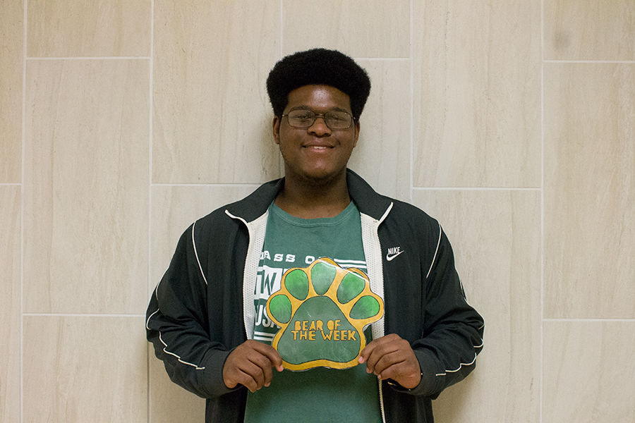 Dajhaun Myles is a senior that works hard to be successful in all that he does.