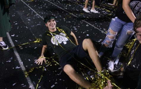 Senior Jackson Baeza is well known for his school spirit and outgoing personality.