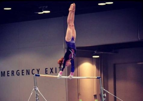 Sophomore gymnast flies to new heights