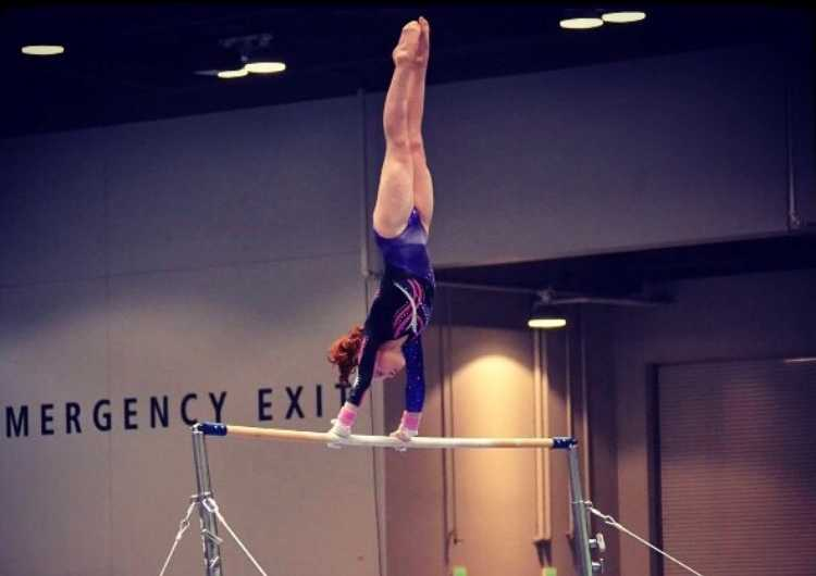 Sophomore Isabel Kersey has competed in gymnastics since she was six years old.