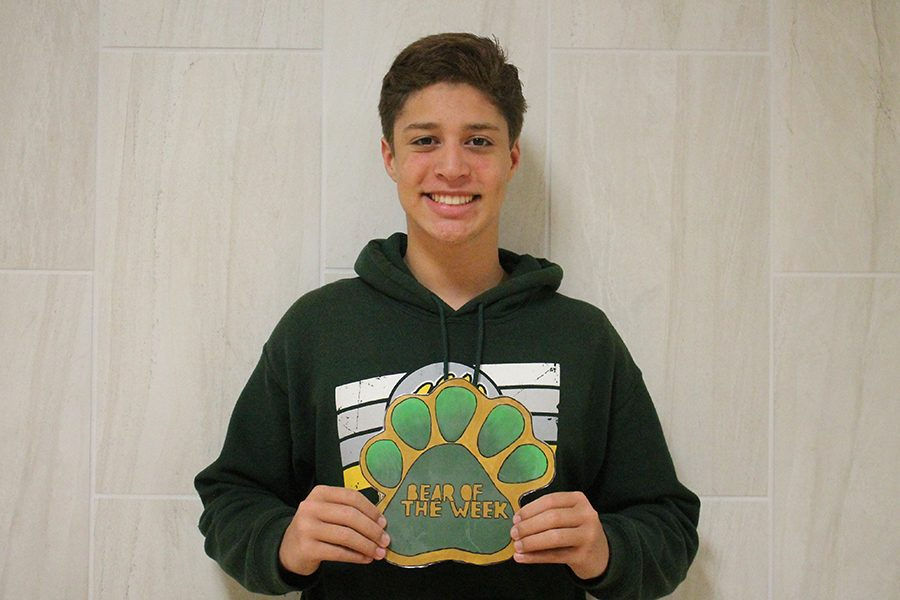 Sophomore Mason Grizzaffi loves LCM and always has a positive attitude.