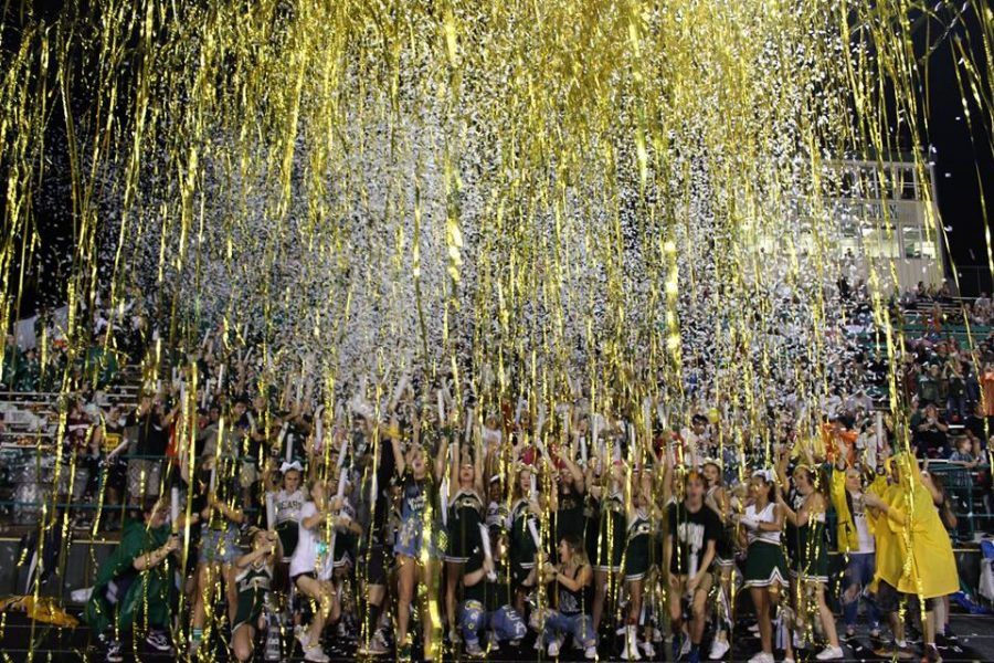 The LCM student body has more spirit than ever this year.