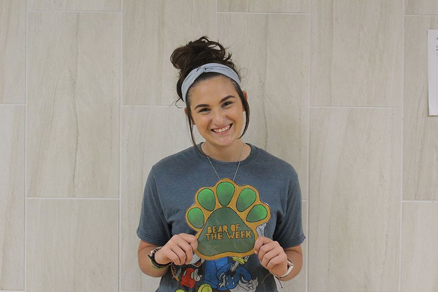 Sophomore Lakin Adkins is active in Interact Club, Choir, and softball.