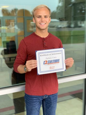 Zach Casey chosen for Star Student