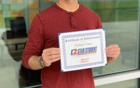 Zach Casey chosen for Star Student