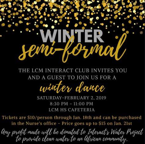 Interact Club to host winter dance