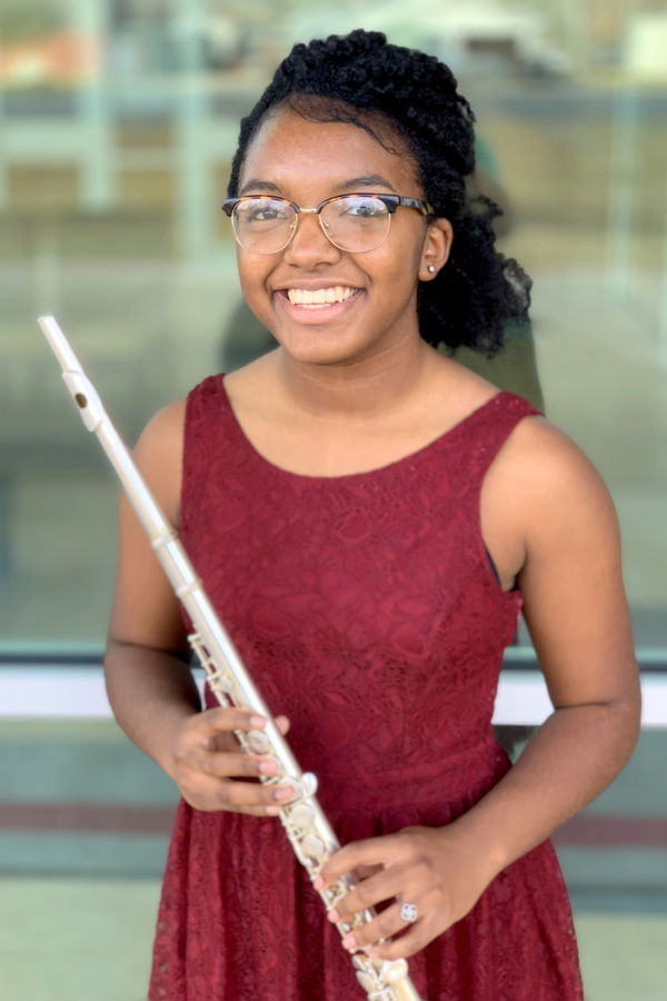 Junior Bryanna Lewis recently made the TMEA All-State Band.