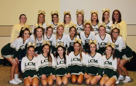 Cheerleaders place 10th in state