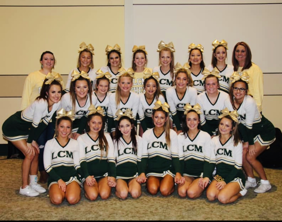 The LCM cheerleaders recently placed 10th in State.