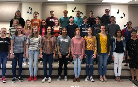 Choir members advance to State