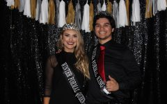 Seniors crowned king and queen