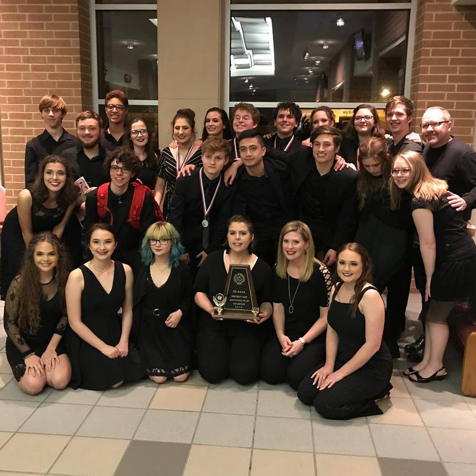 One Act Play recently placed second in Bi-District.
