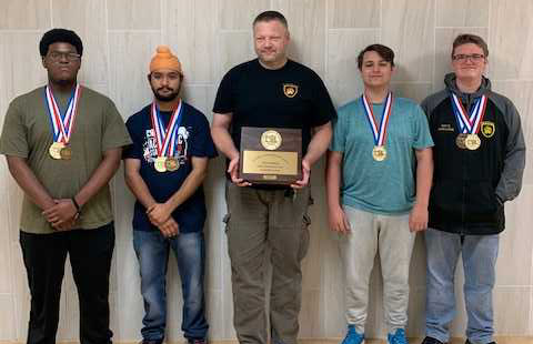 The Computer Science team brought home first place at the State UIL meet.