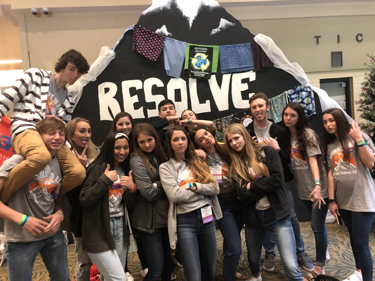 Student Council members had a blast at State Convention.