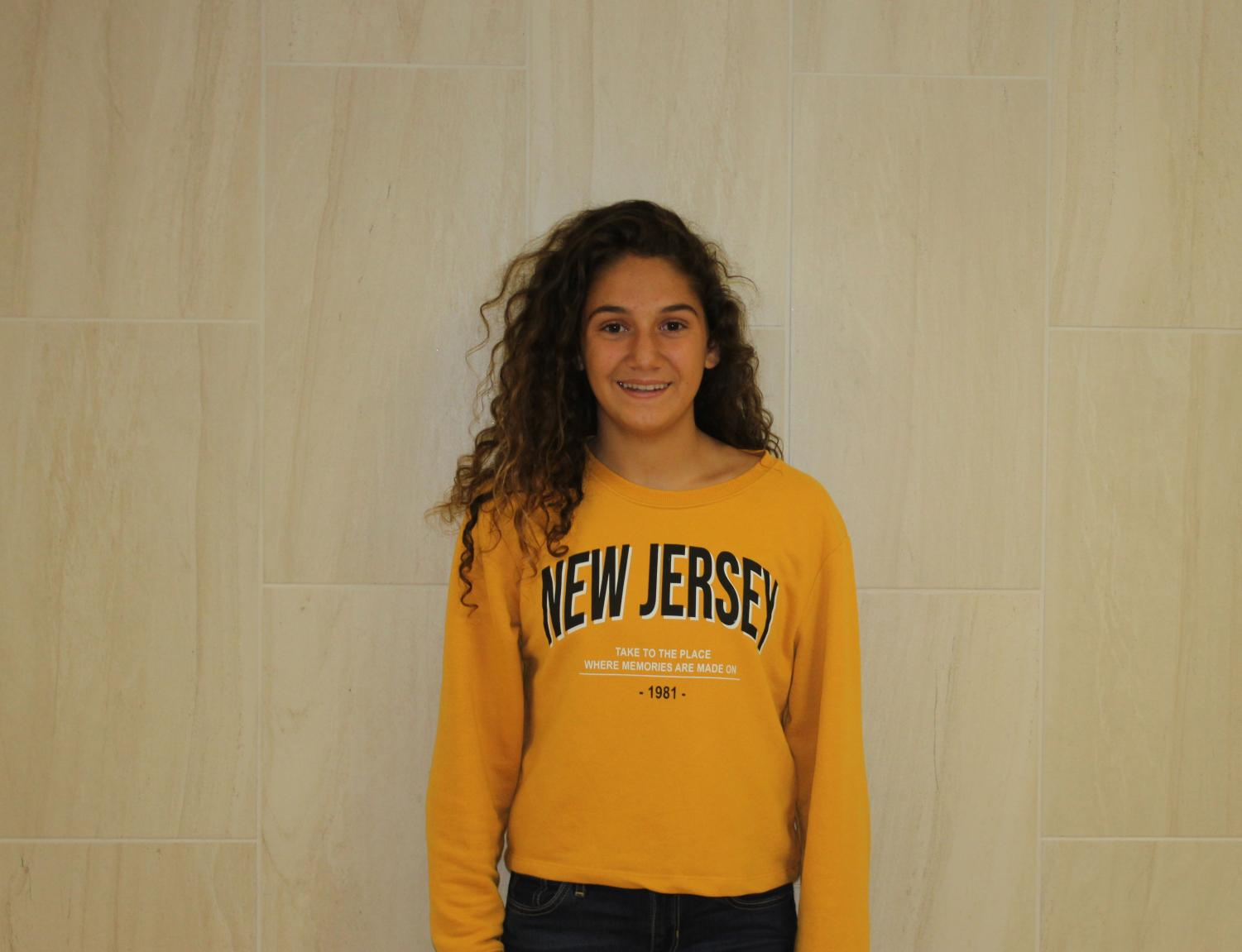 Sophomore Claudia Perez is from Spain and is enjoying her time at LCM.