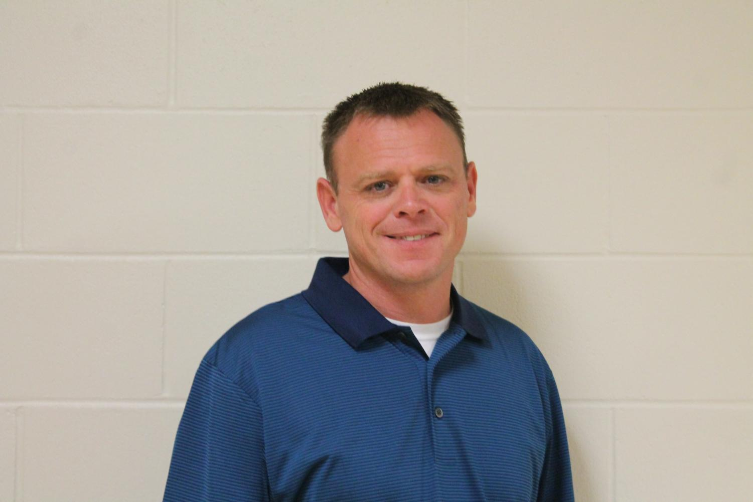 Wayne Stephenson recently took on a new role as Assistant Principal.