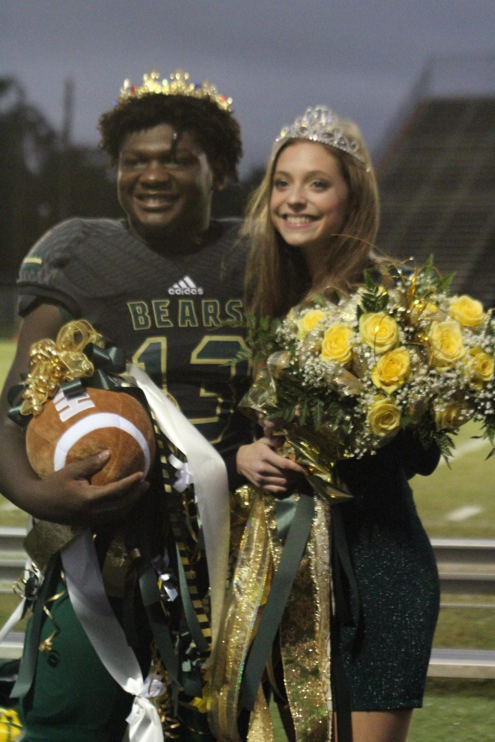 Seniors Ethan McCollum and Avery Holland were crowned Homecoming King and Queen.