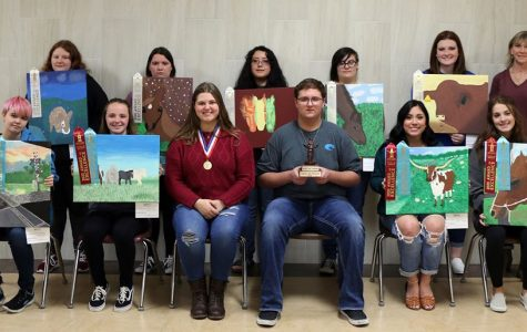 Art students bring home the gold