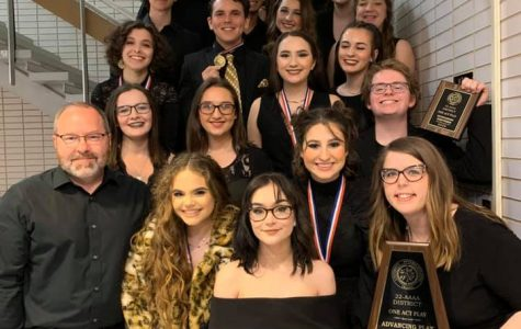 One Act Play will move on to the Bi-District round of competition.