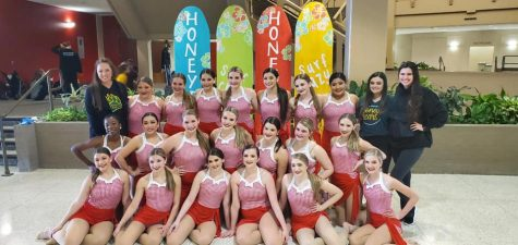 The Honey Bears competed this past weekend and racked up several awards.