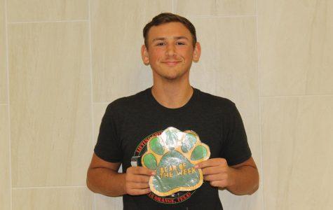 The Bear of the Week is freshman Devin LeBleu.