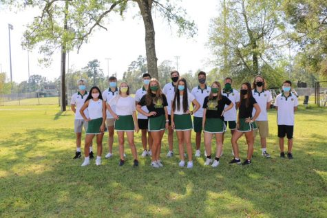 The fall tennis team won the district championship on Oct. 6.