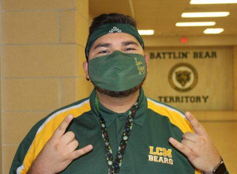 Spanish teacher Sammy Ibarra graduated from LCM in 2014.