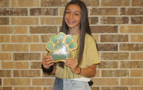 Sophomore Annabelle Fisher runs cross country, and also plays basketball and soccer.