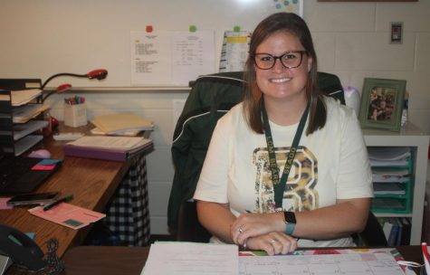 Jennifer Seago worked at Little Cypress Elementary before transitioning to the high school.