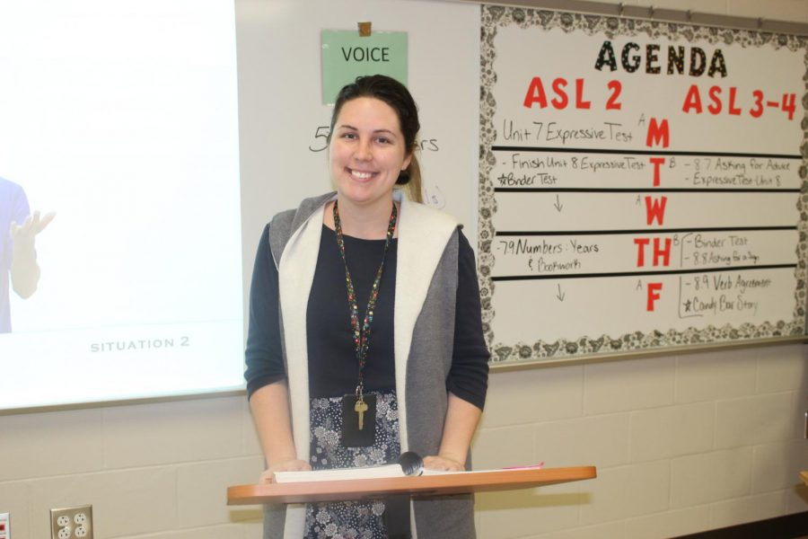 This is Danielle Frazier's first year to teach at LCM.