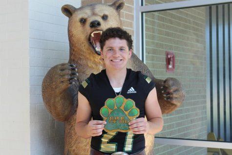 Senior Jacob Burman is on the Battlin Bear Football team and wants to be seen as a nice, helpful person.