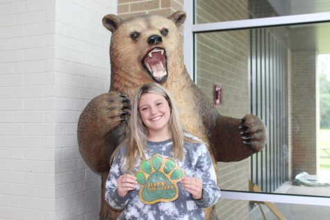 Sophomore Jordyn Struwe is a member of the JV volleyball team and is known for her positivity.