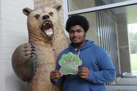Senior Jonathon Guilbeaux is a valuable part of the Battlin Bear Football team.