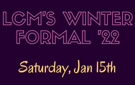 The LCM Winter Formal, hosted by Interact, will return this January.